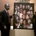 Frank Owens & Painting by Kent Drake