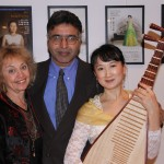 Dr. Sue Jose Pinto Stephen, Musician with Pipa