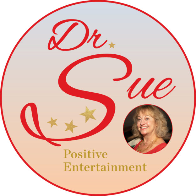 Dr. Sue Positive Entertainment Logo